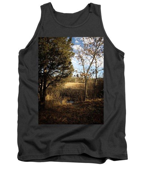 Woodland View  Tank Top by Kimberly Mackowski
