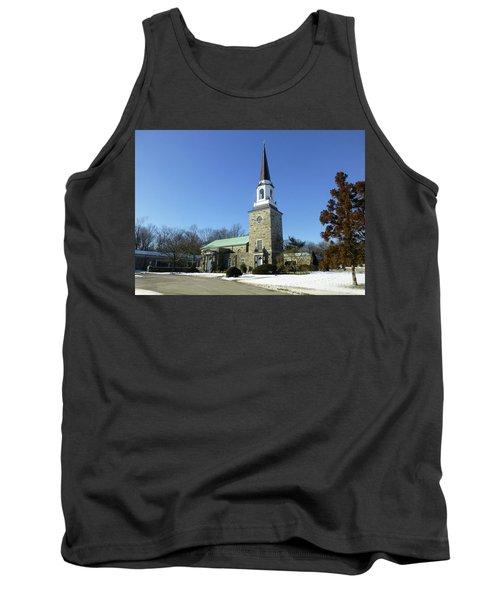 Woodlawn Cemetery Chapel Tank Top