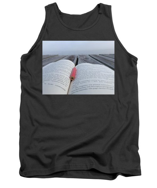 Words On The Dock Tank Top