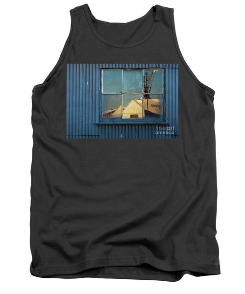 Tank Top featuring the photograph Work View 1 by Werner Padarin