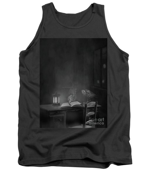 Working Overtime Bw Tank Top