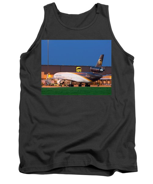 Working The Night Shift Tank Top