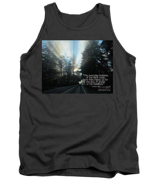 Tank Top featuring the photograph World Kindness Day by Peggy Hughes