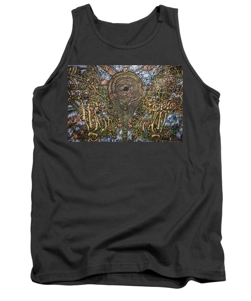 Worlds Visible And Invisible Tank Top