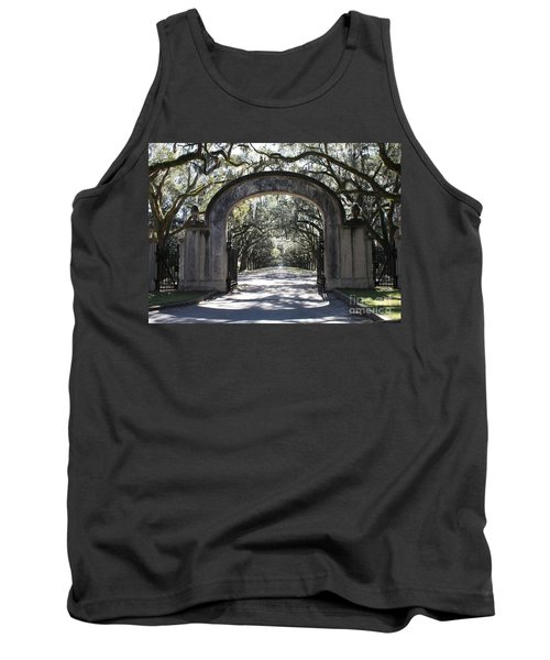 Wormsloe Plantation Gate Tank Top