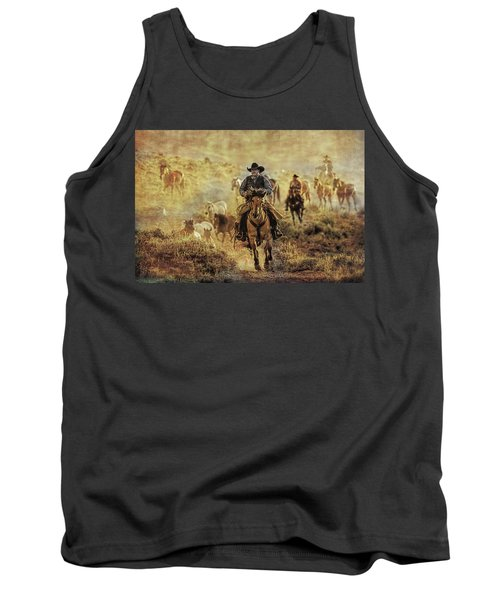 A Dusty Wyoming Wrangle Tank Top