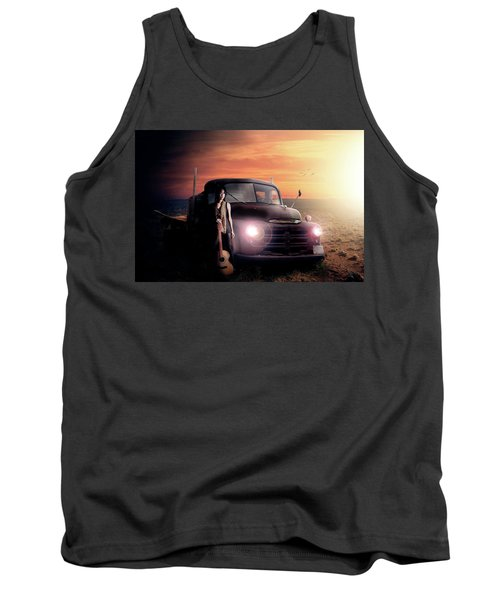 Tank Top featuring the digital art Wrecked  by Nathan Wright
