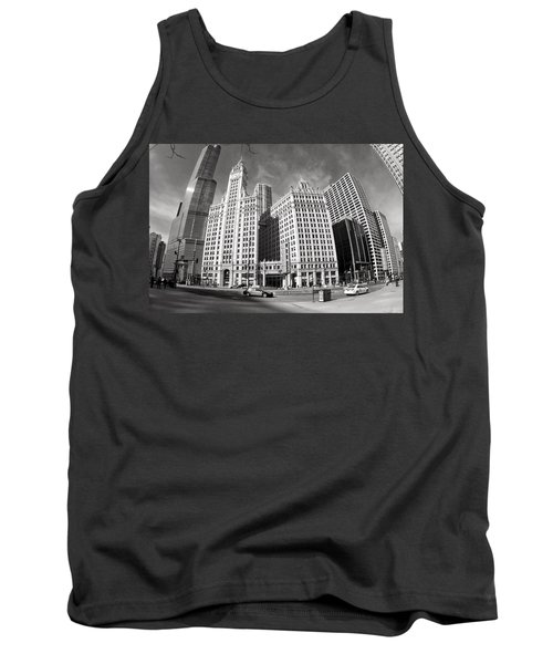 Wrigley Building - Chicago Tank Top