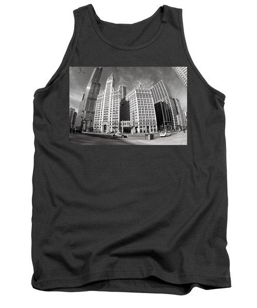 Wrigley Building - Chicago Tank Top