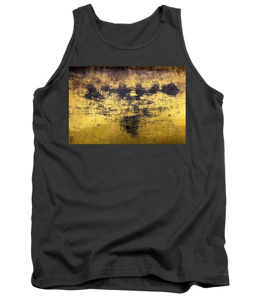 Tank Top featuring the photograph Writing On Metal, Beijing, 2016 by Hitendra SINKAR