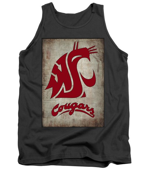 W S U Cougars Tank Top