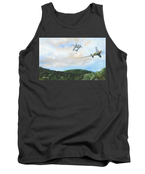 Wwii Dogfight Tank Top