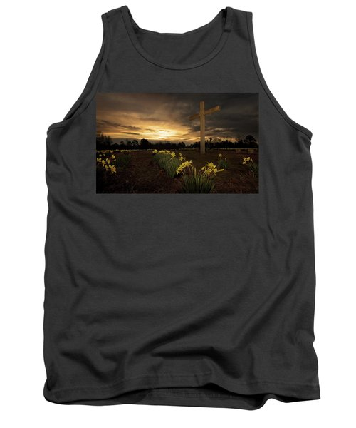Wye Mountain Sunset Tank Top