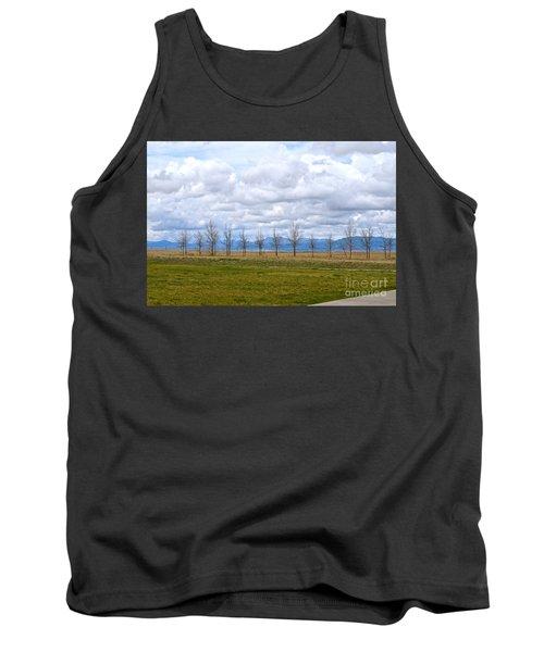 Wyoming-dwyer Junction Tank Top