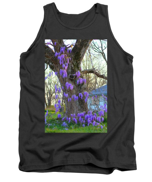 Wysteria Tree Tank Top