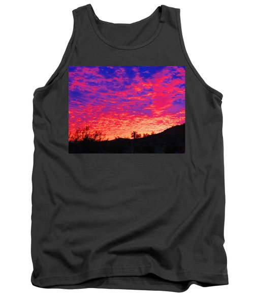Y Cactus Sunset 1 Tank Top