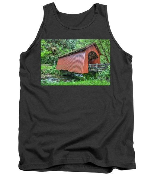 Yachats Covered Bridge Tank Top
