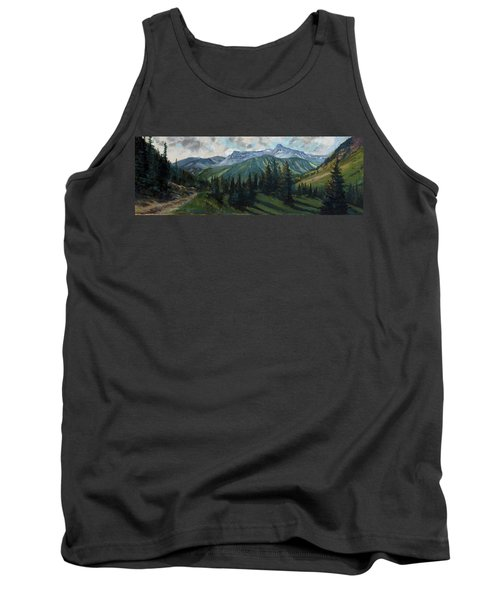 Tank Top featuring the painting Yankee Boy Basin by Billie Colson