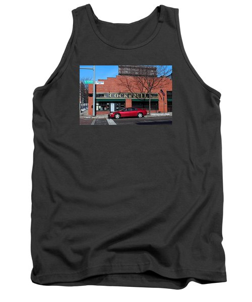 Tank Top featuring the photograph Ye Olde Cock N Bull by Michiale Schneider