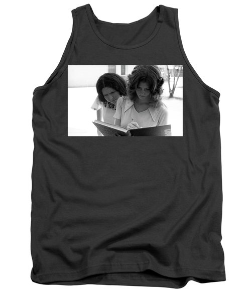 Yearbook Signing, 1972, Part 1 Tank Top