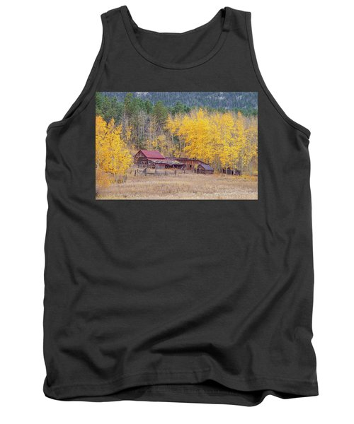 Yearning For The Tranquility Of A Rustic Milieu  Tank Top