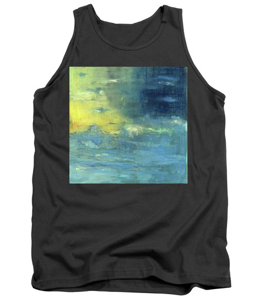 Tank Top featuring the painting Yearning Tides by Michal Mitak Mahgerefteh