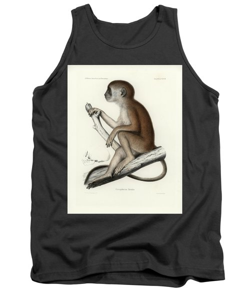 Yellow Baboon, Papio Cynocephalus Tank Top