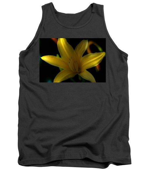 Yellow Beckoning Tank Top