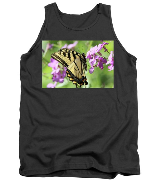 Yellow Butterfly Tank Top