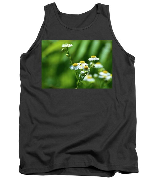 Yellow Composition  Tank Top