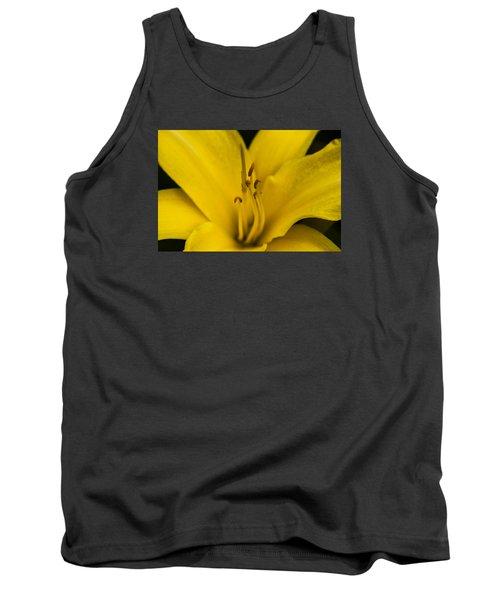Yellow Tank Top by Dan Hefle
