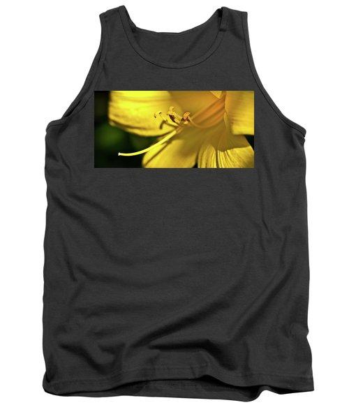 Yellow Daylily Tank Top