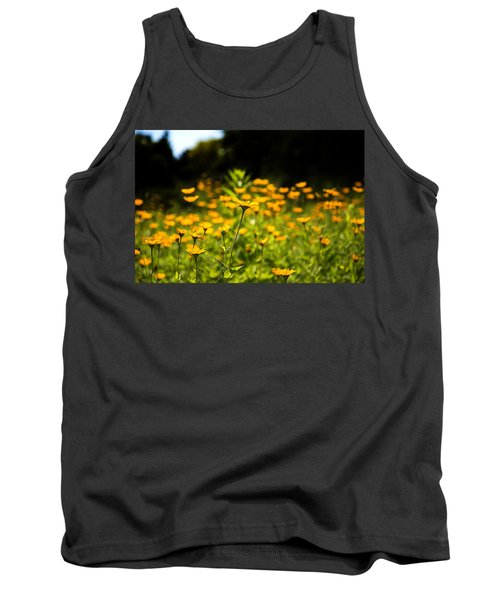 Yellow Field Tank Top