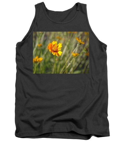 Yellow Flower Tank Top