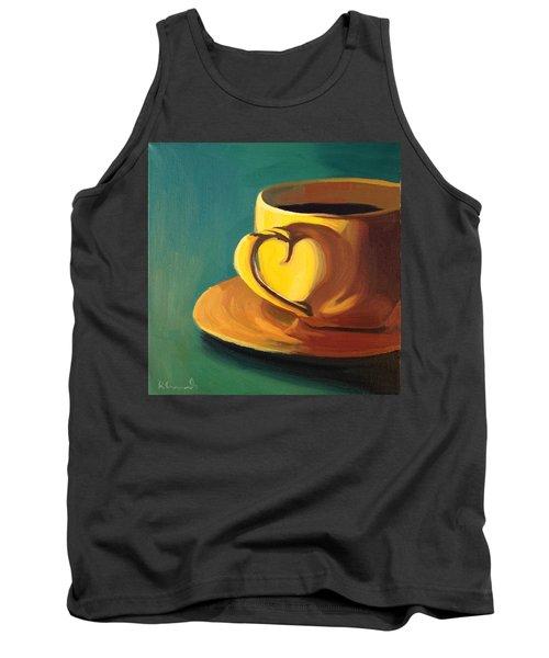 Yellow Java Tank Top