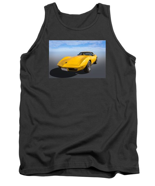 Tank Top featuring the photograph Yellow by Keith Hawley