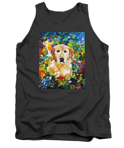 yellow Lab Tank Top