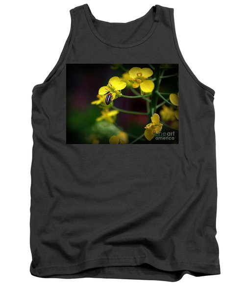 Tank Top featuring the photograph Yellow Lightning by Lisa L Silva