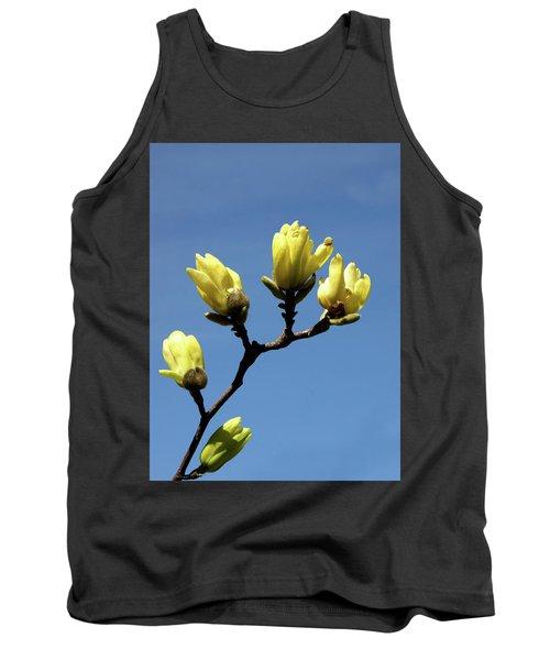 Yellow Magnolia Tank Top
