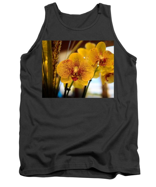 Yellow Orchis Tank Top