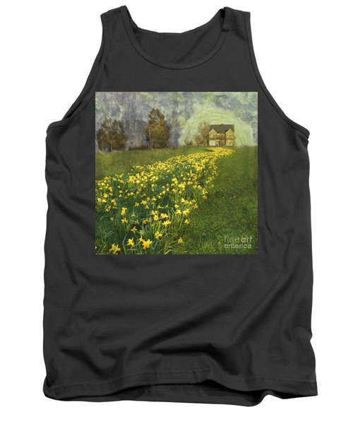 Tank Top featuring the photograph Yellow River To My Door by LemonArt Photography