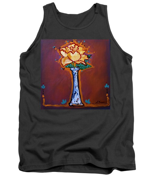 Yellow Rose Tank Top