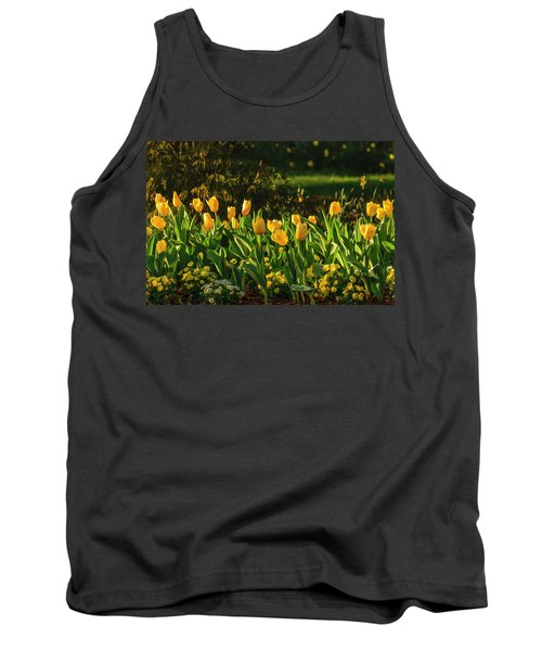 Yellow Spring Fever Tank Top