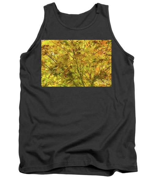 Yellow Spring Tank Top by Iris Greenwell