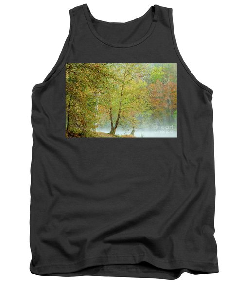 Tank Top featuring the photograph Yellow Trees by Iris Greenwell