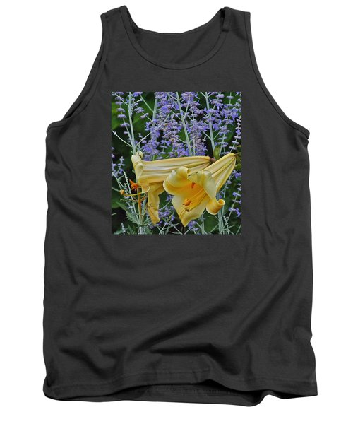 Yellow Trumpets Tank Top