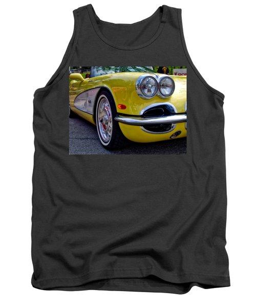 Yellow Vette Tank Top
