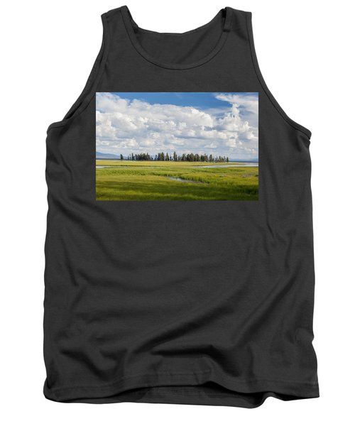 Yellowstone Meadow Tank Top