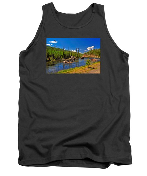 Yellowstone River Tank Top