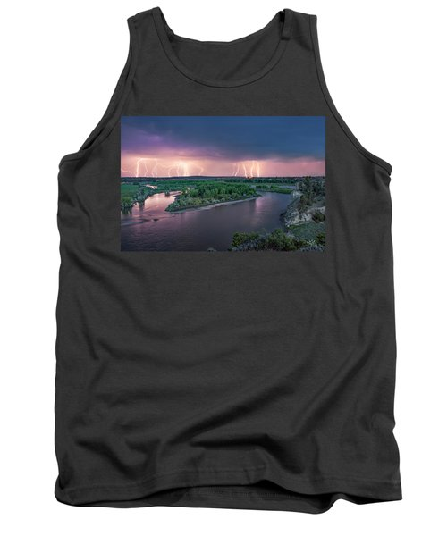 Yellowstone River Lightning Tank Top